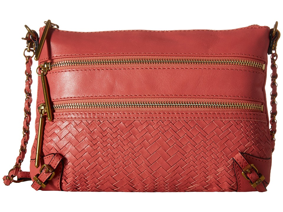 Elliott Lucca - Bali '89 3 Zip Clutch (Guava Devi) Clutch Handbags