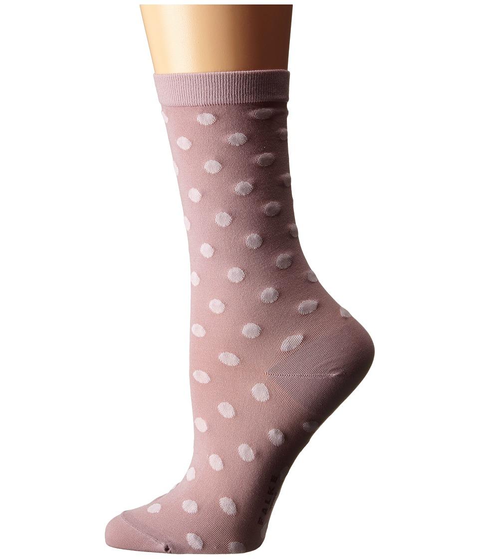 Falke - Dot Ankle (Petal) Women's Crew Cut Socks Shoes