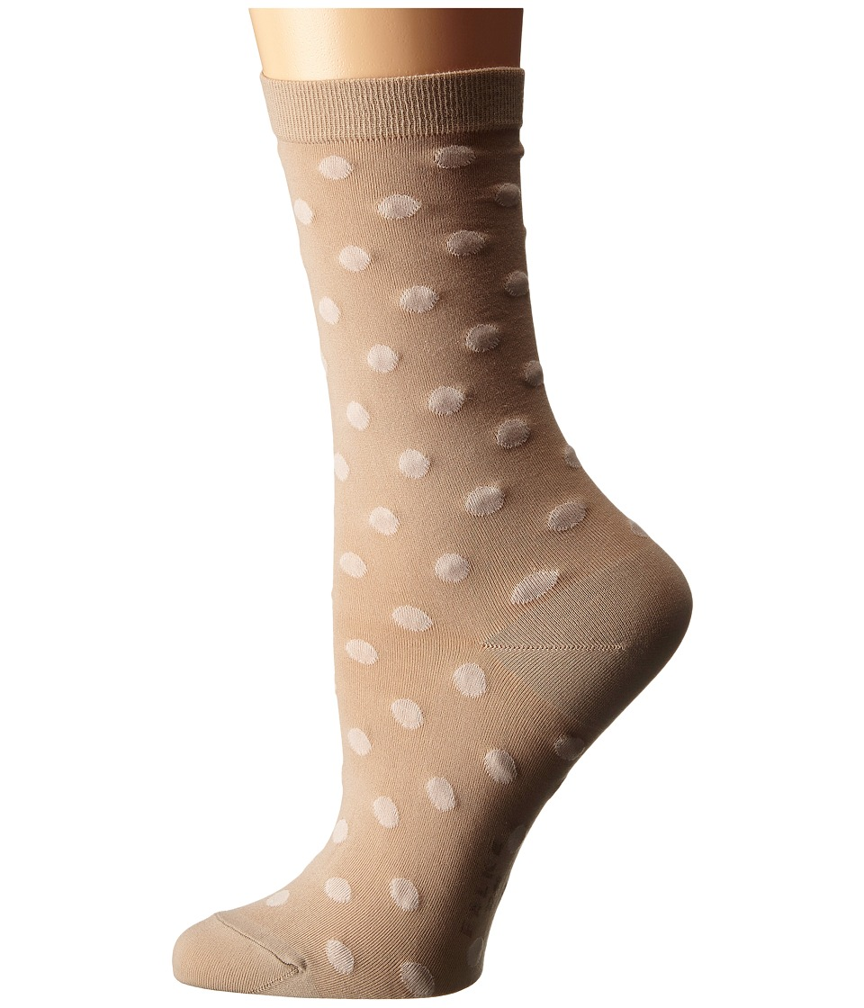Falke - Dot Ankle (Camel) Women's Crew Cut Socks Shoes