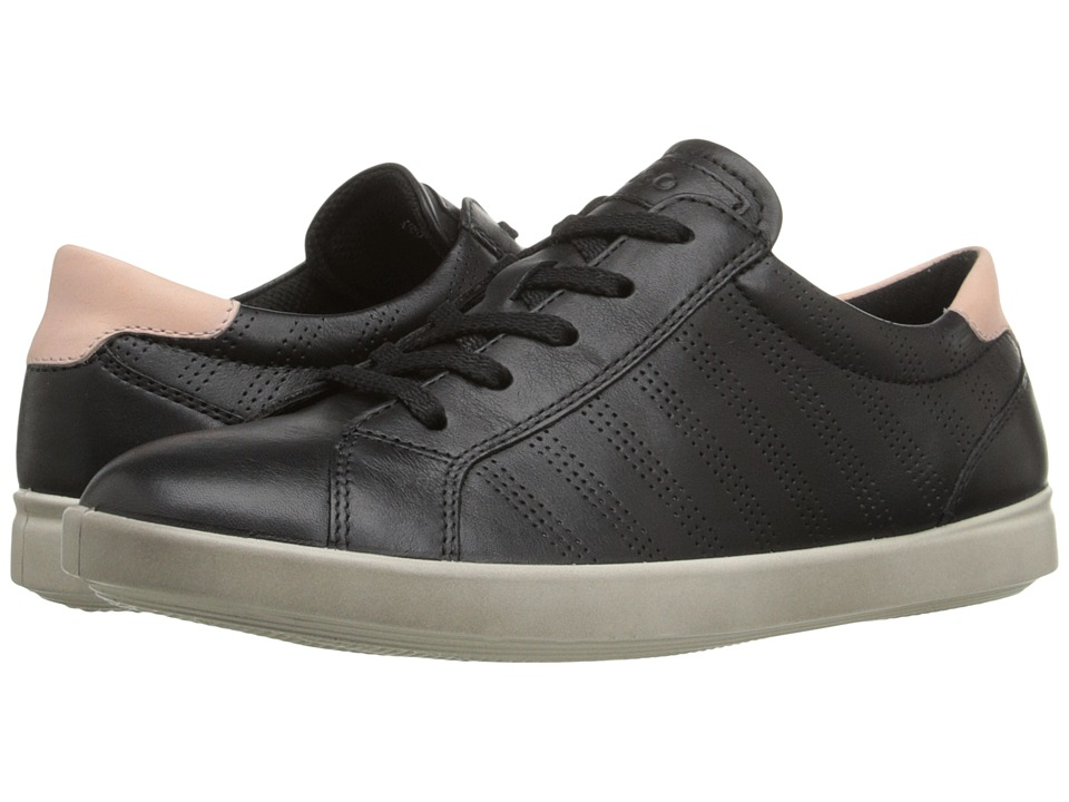 ECCO - Aimee Sport Tie (Black/Silver Pink) Women's Lace up casual Shoes