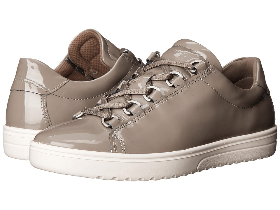 ECCO - Fara Tie (Warm Grey) Women's Lace up casual Shoes
