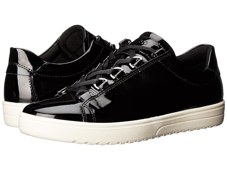 ECCO - Fara Tie (Black) Women's Lace up casual Shoes