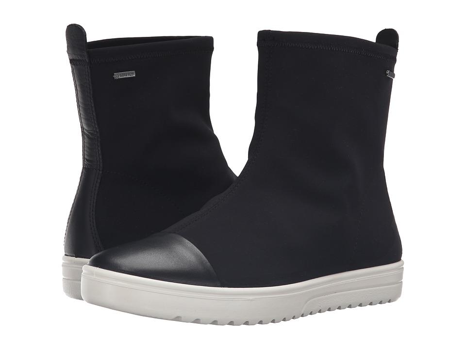 ECCO - Fara Mid Boot GTX (Black/Black) Women's Boots