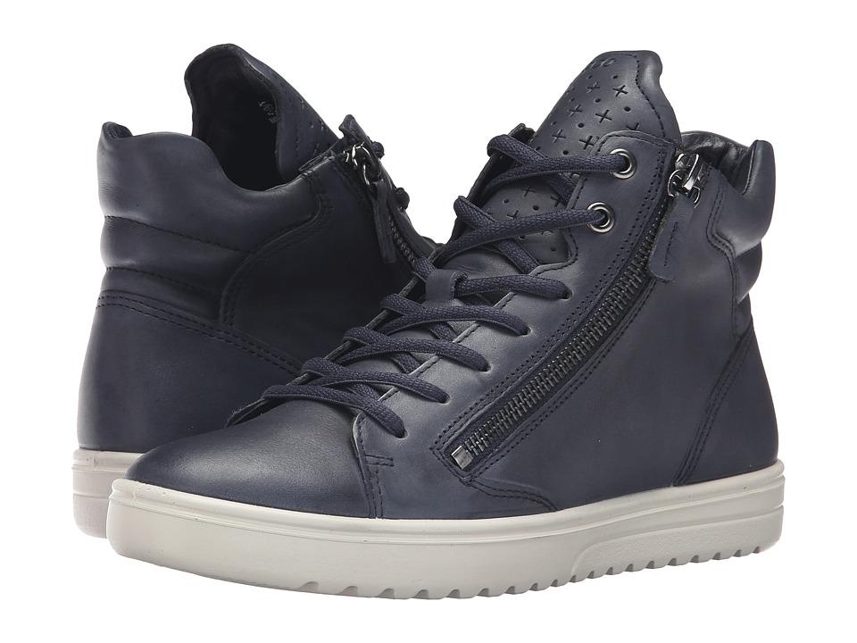 ECCO Fara Sneaker (Marine) Women