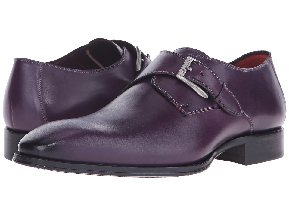 Mezlan - Flores (Purple) Men's Monkstrap Shoes
