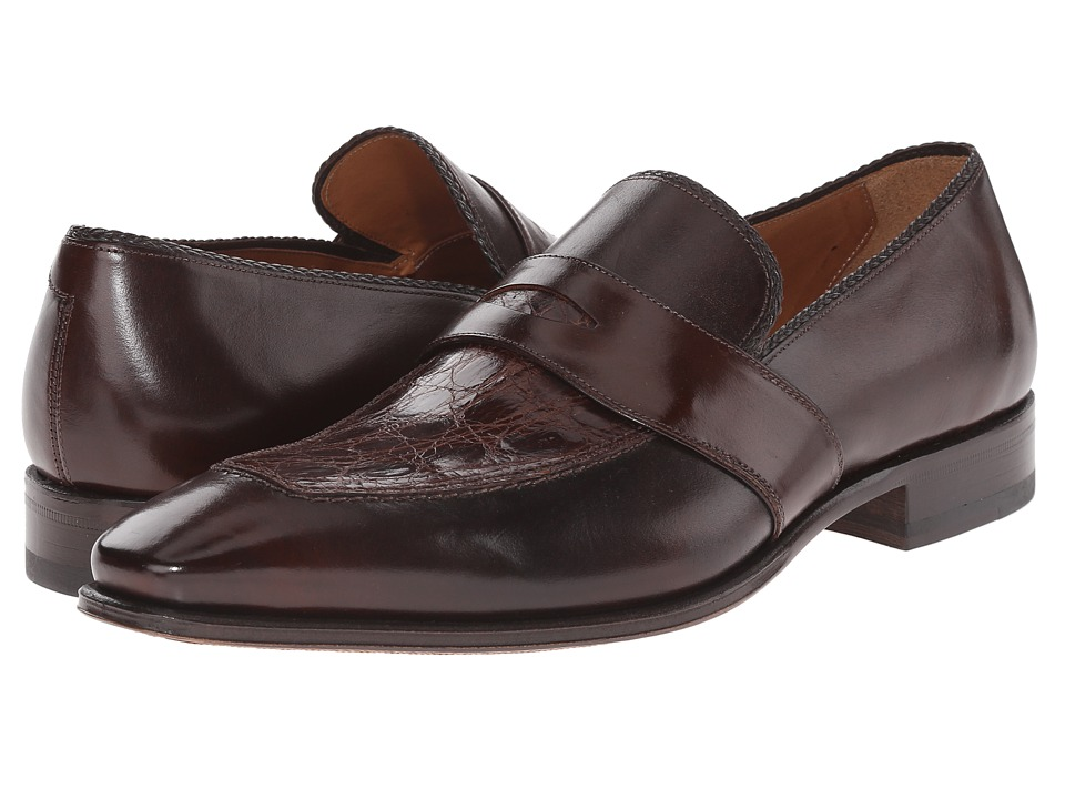 Mezlan - Lambert (Brown) Men's Slip on Shoes