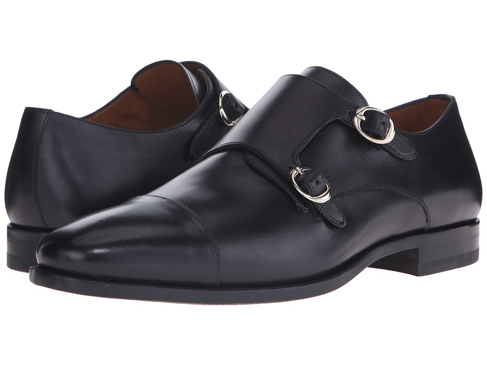 Mezlan - Rosales (Black) Men's Monkstrap Shoes