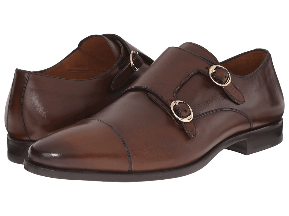 Mezlan - Rosales (Brown) Men's Monkstrap Shoes