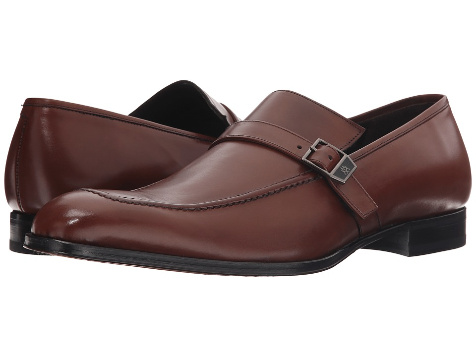 Mezlan - 16030 (Cognac) Men's Slip-on Dress Shoes