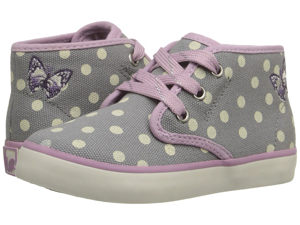 Hanna Andersson - Nils 3 (Toddler/Little Kid/Big Kid) (Mast Grey) Girls Shoes