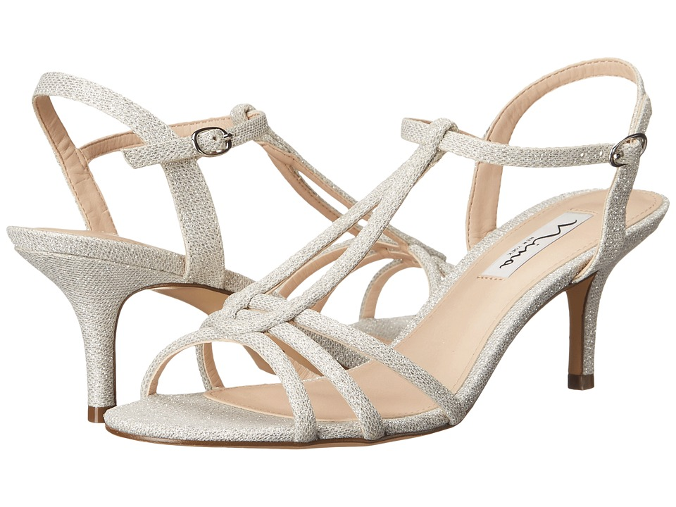 Nina Charece (Silver) High Heels