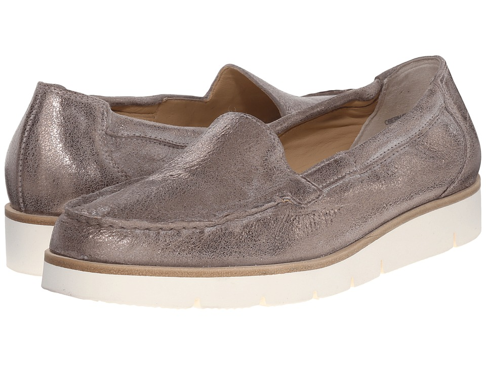 Paul Green - Hannah LFR (Smoke Metallic) Women's Slip on Shoes