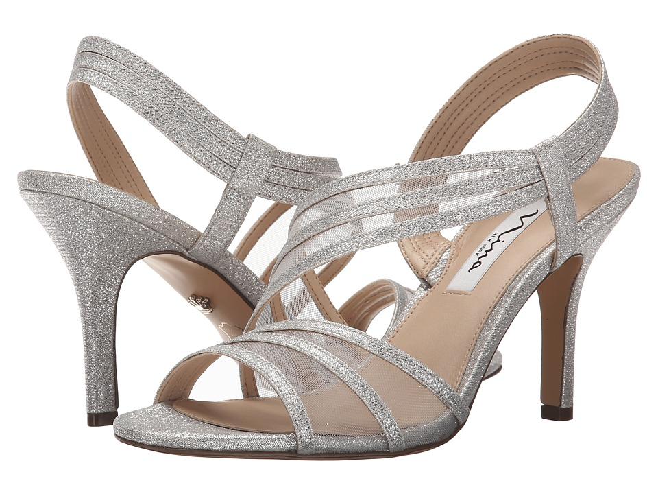 Nina - Vitalia (Silver) High Heels