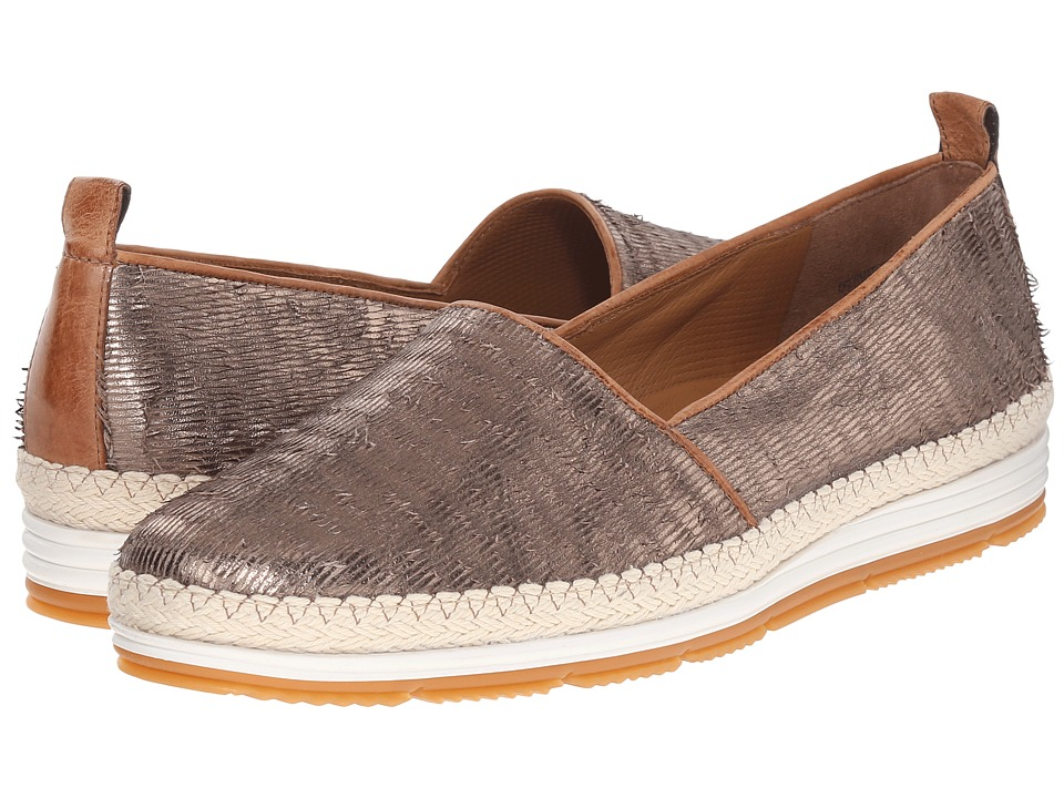Paul Green - Hepburn (Smoke Cuoio Fraye) Women's Slip on Shoes
