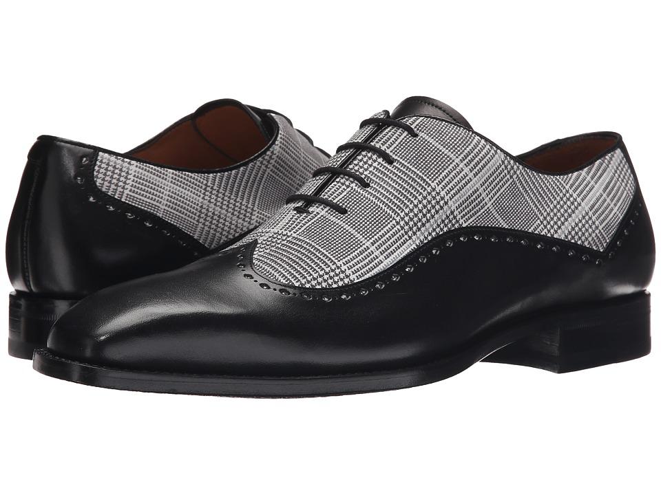 Mezlan - Marti (Black/White) Men's Lace up casual Shoes