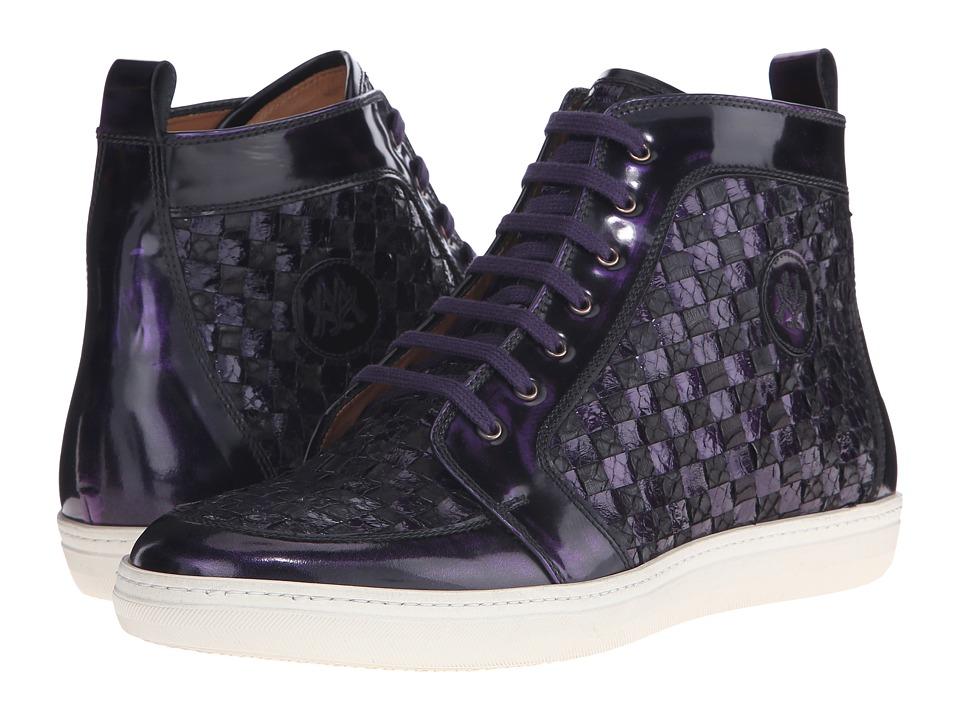 Mezlan - Colonia (Purple/Brown) Men's Lace up casual Shoes