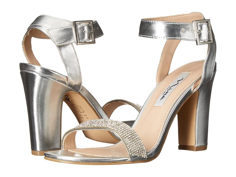 Nina - Solange (Silver) High Heels