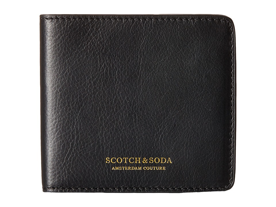 Scotch & Soda - Leather Wallet (Black) Wallet Handbags