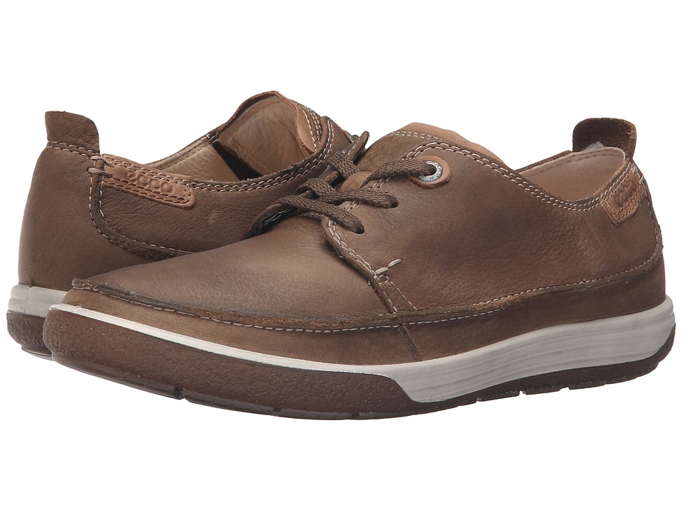 ECCO - Chase II Moc Tie (Birch/Whisky) Women's Lace up casual Shoes