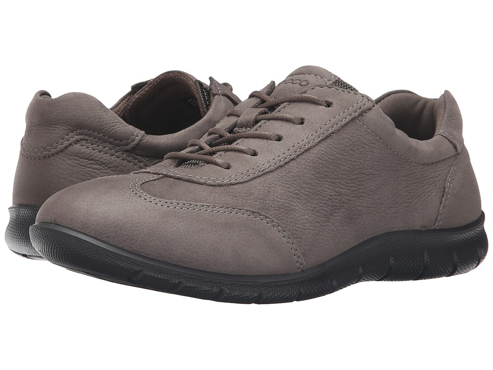 ECCO - Babett (Warm Grey) Women's Lace up casual Shoes