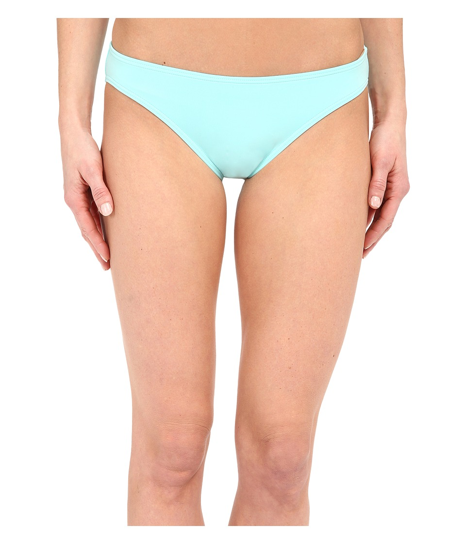 Vince Camuto - Beach Front Classic Bottom w/ Logo Bar (Aqua Shade) Women's Swimwear