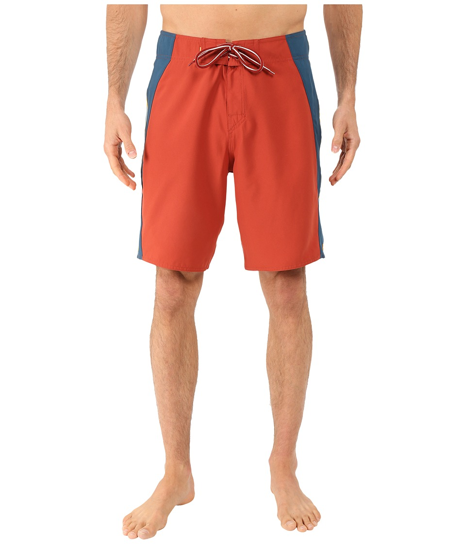 Quiksilver Waterman Rhodin Boardshorts (Red Ochre) Men