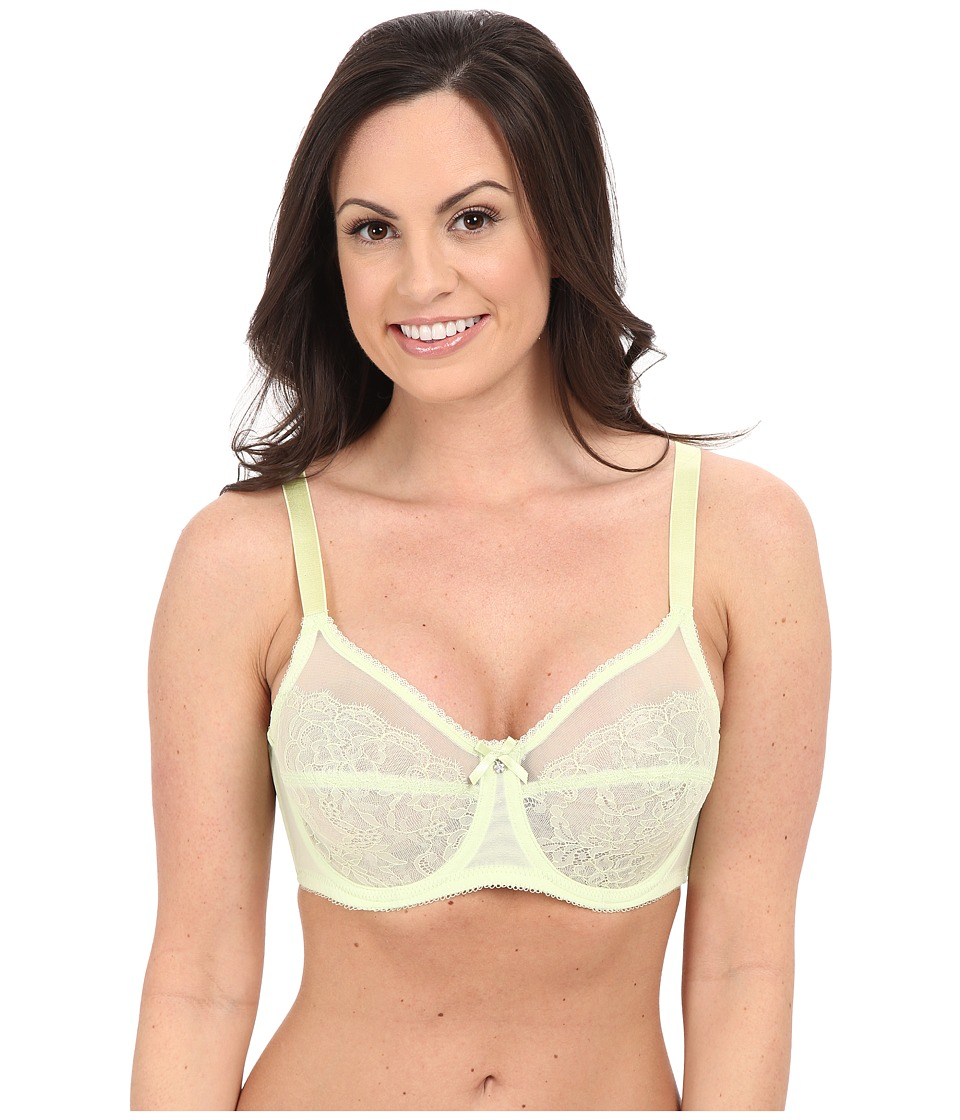 Wacoal - Retro Chic Full-Busted Underwire Bra 855186 (White Jade) Women's Bra