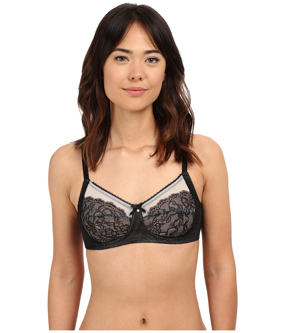 Wacoal - Retro Chic Wire Free Bra (Black) Women's Bra