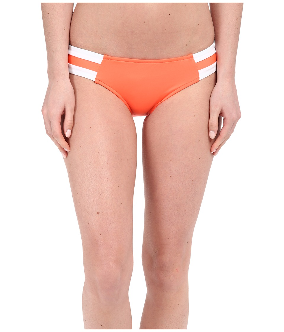 Seafolly - Block Party Spliced Hipster Bottoms (Nectarine) Women's Swimwear