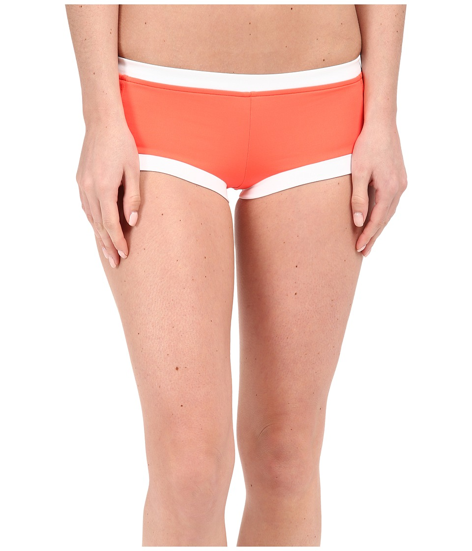Seafolly - Block Party Boyleg (Nectarine) Women's Swimwear