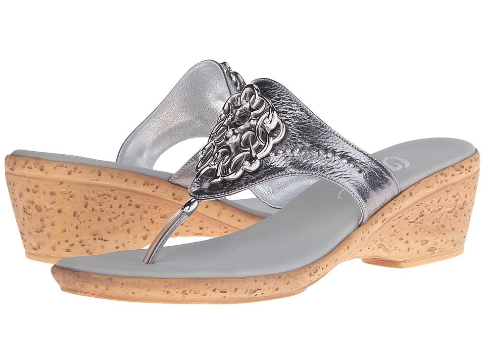 Onex - Zoey (Pewter) Women's Sandals