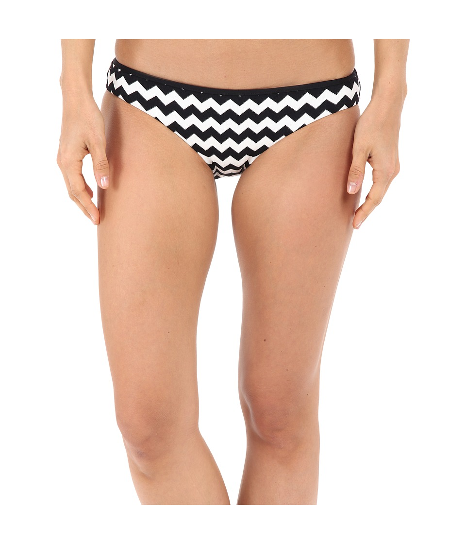 Seafolly Mod Club Bound Hipster Bottoms (Black/White) Women