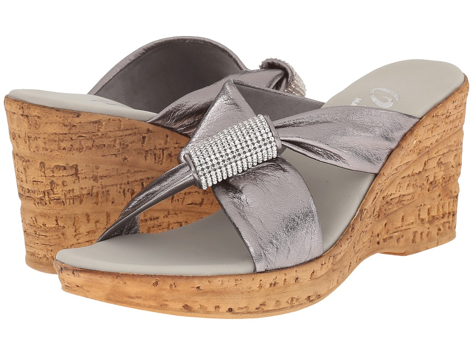 Onex - Starr (Pewter) Women's Sandals