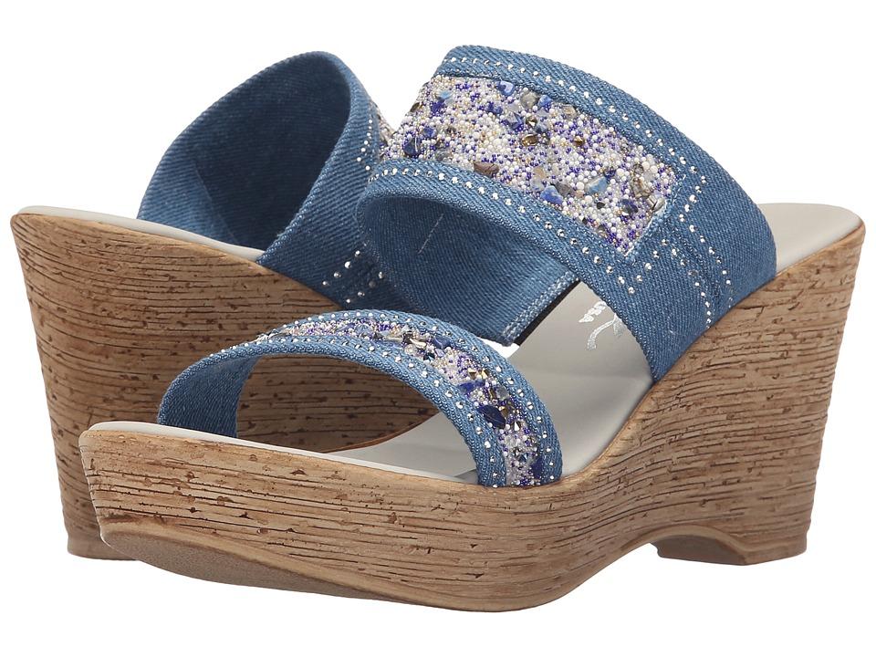 Onex - Maryann (Denim) Women's Shoes