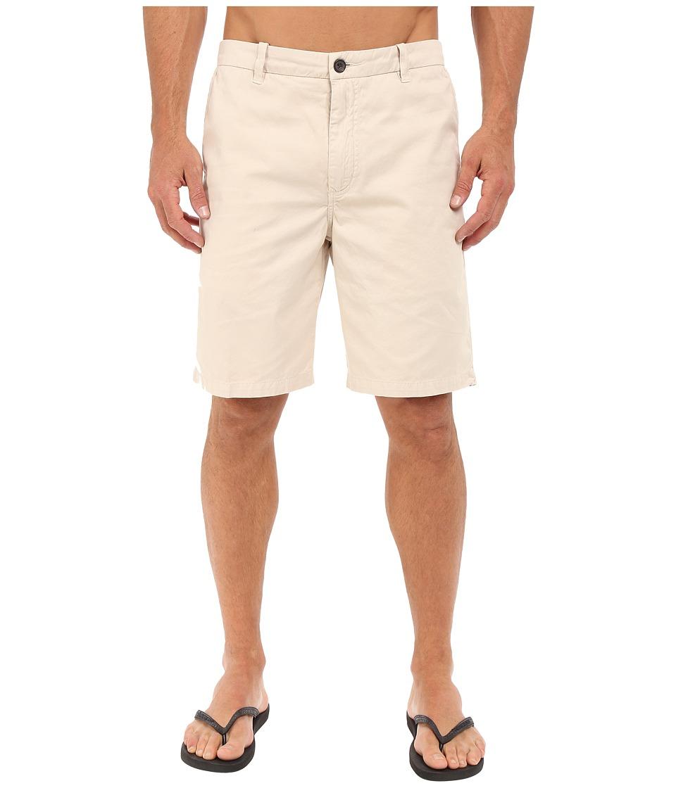 Quiksilver Waterman - Down Under 4 Walkshorts (Oatmeal) Men's Shorts