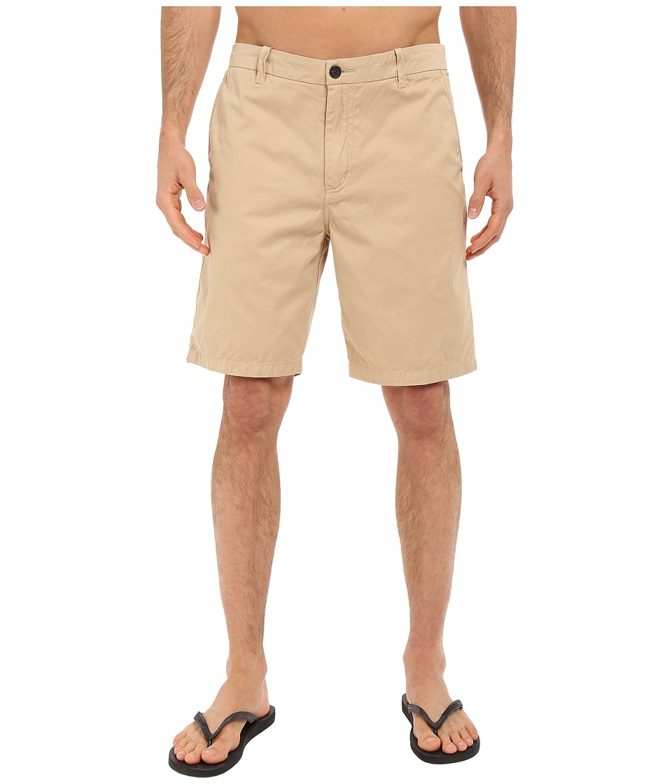 Quiksilver Waterman - Down Under 4 Walkshorts (Khaki) Men's Shorts
