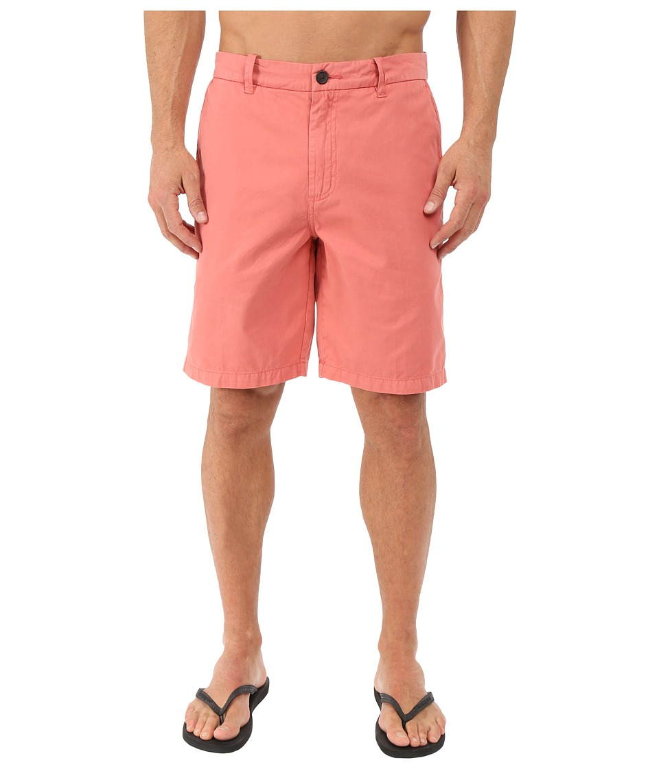 Quiksilver Waterman - Down Under 4 Walkshorts (Red Tea) Men's Shorts