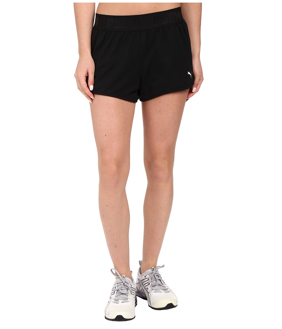 PUMA - Active Forever Shorts (Black) Women's Shorts