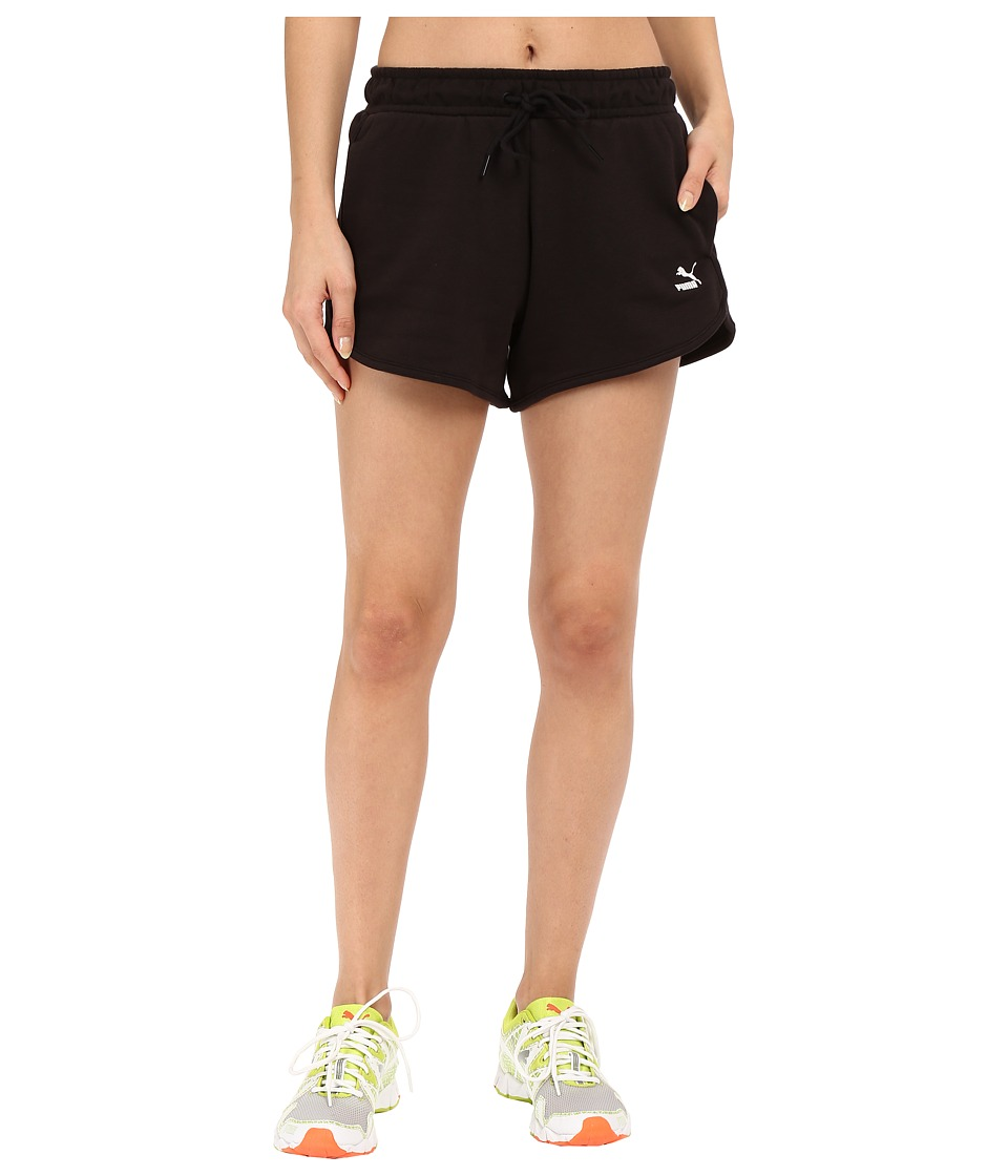 PUMA - No. 1 Logo Shorts (Black) Women's Shorts