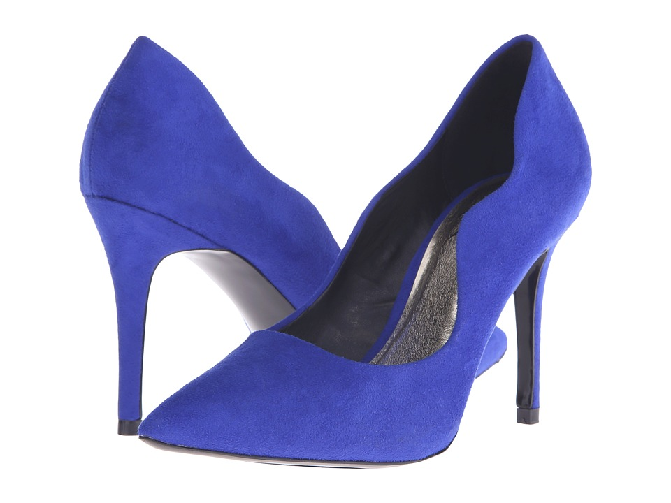 LFL by Lust For Life - Spin (Blue Suede) High Heels