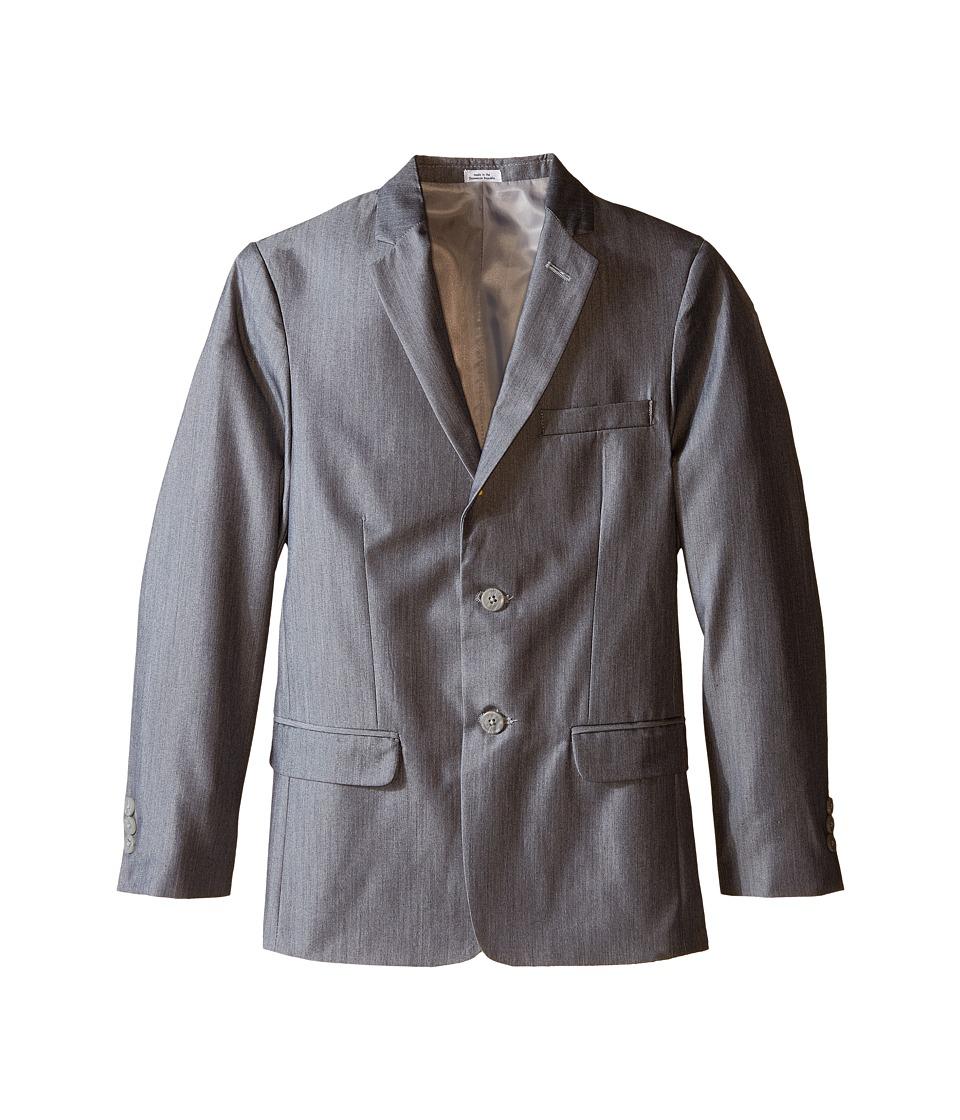 Calvin Klein Kids - Irridescent Twill Jacket (Big Kids) (Light Grey) Boy's Jacket