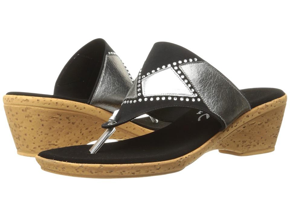 Onex - Marjie (Black/Silver) Women's Shoes