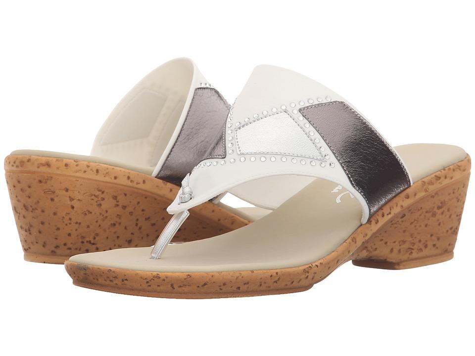 Onex - Marjie (White/Silver) Women's Shoes