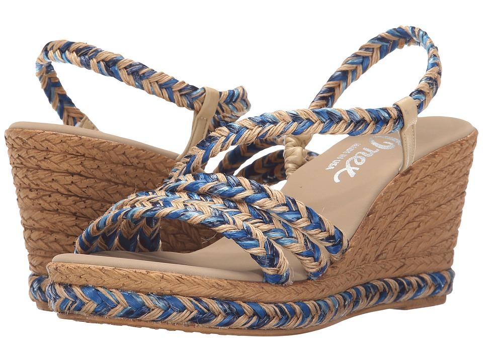 Onex - Marcia (Blue Multi) Women's Shoes