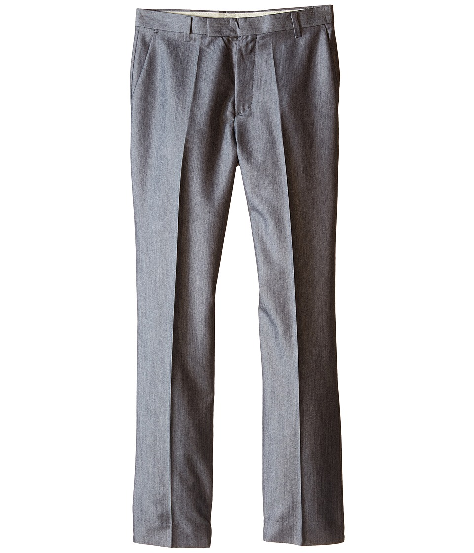 Calvin Klein Kids - Irridescent Twill Pants (Big Kids) (Light Grey) Boy's Casual Pants