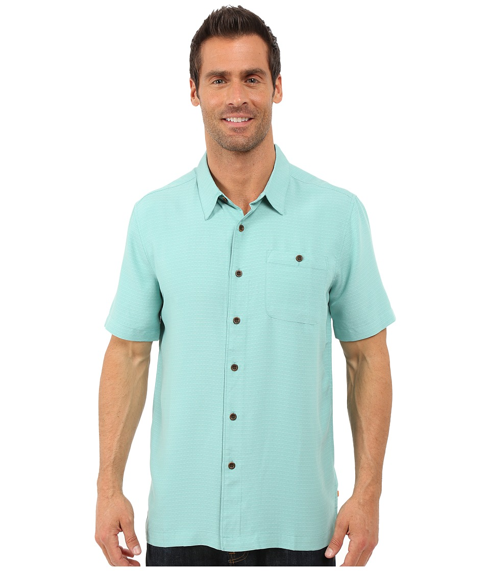 Quiksilver Waterman - Marlin Shirt (Agate Green) Men's Clothing