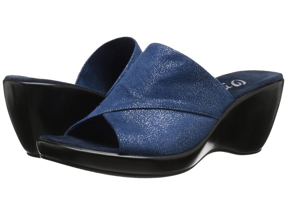 Onex - Deena-S (Blue/Gold) Women's Shoes