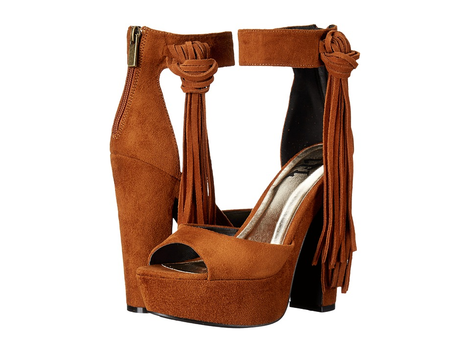 LFL by Lust For Life - Wyld (Cognac) High Heels