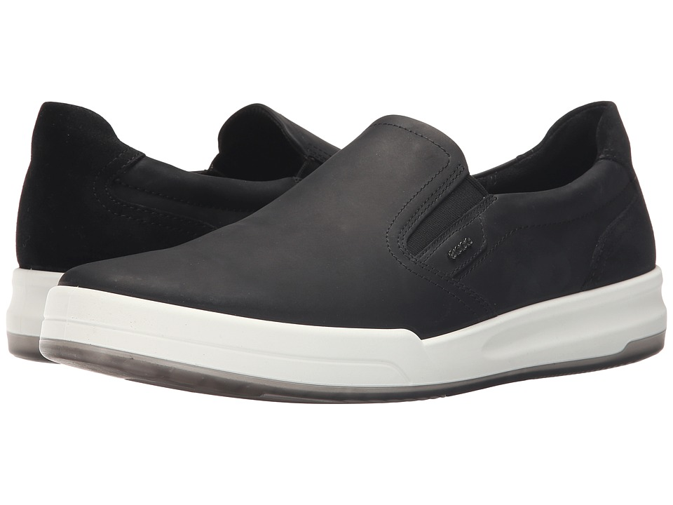 ECCO - Jack Slip-On (Black) Men's Shoes