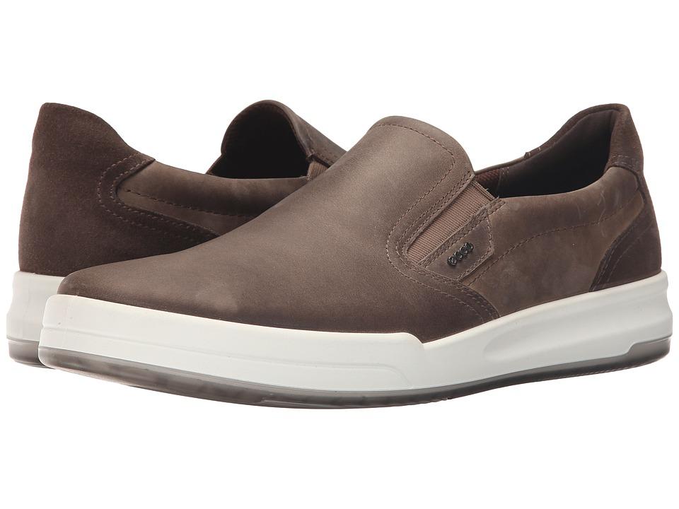 ECCO - Jack Slip-On (Stone) Men's Shoes